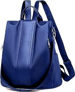 Women Backpack Purse Waterproof Nylon Anti-theft Rucksack Shoulder Bag