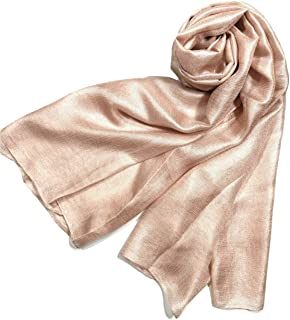 Solid Color Silk Feel Long Scarves