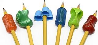 The Pencil Grip PGP-006 Premium Pencil Grip Assortment 6 Pack with Original Pencil Grip, Assorted Colors