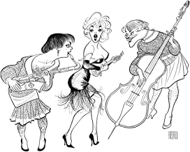 Al Hirschfeld's SOME LIKE IT HOT Hand Signed Limited Edition Lithograph