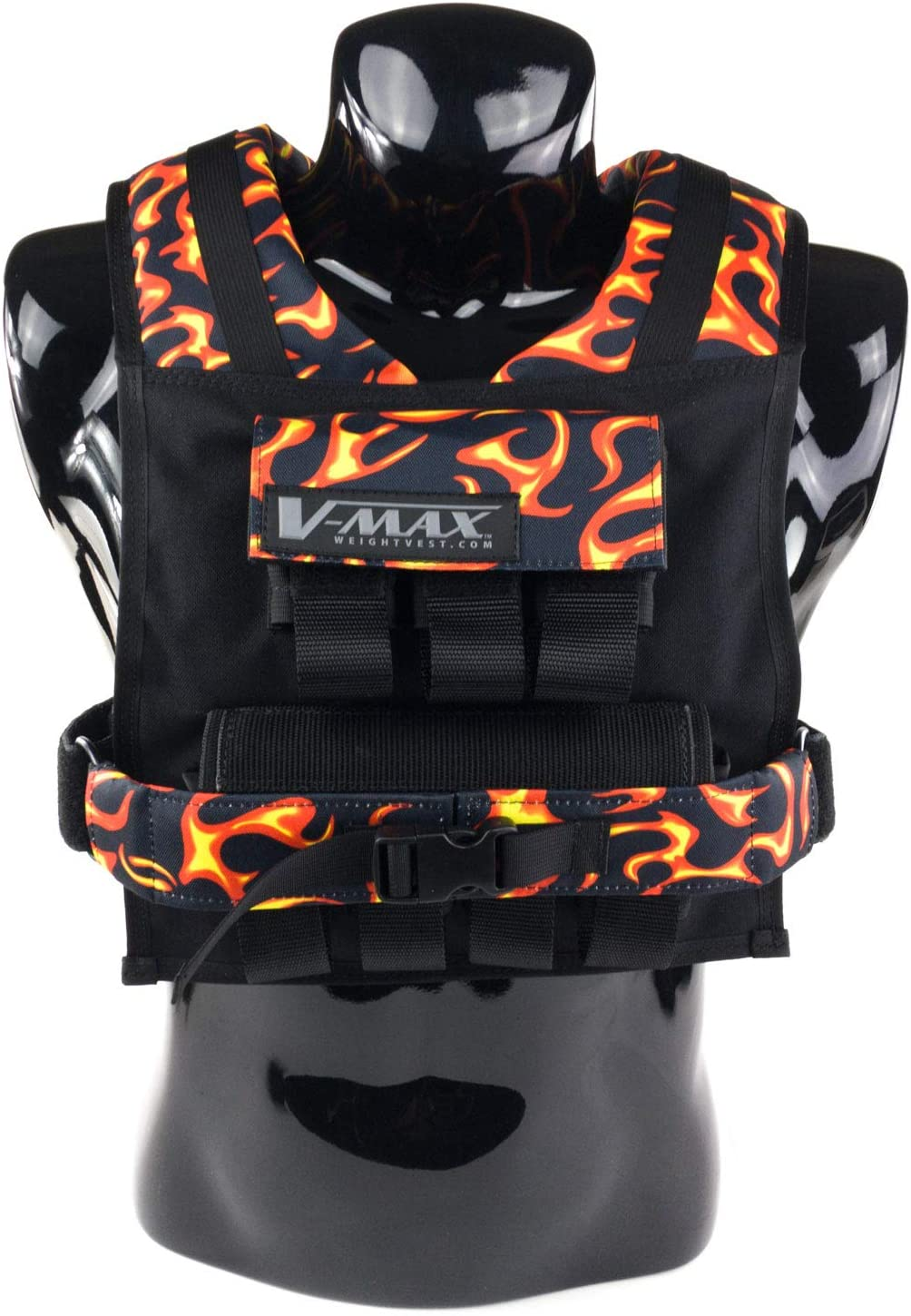 35LB V-MAX Max 56% OFF Washington Mall Weighted Vest Limited Edition. in USA. Made Adjustabl