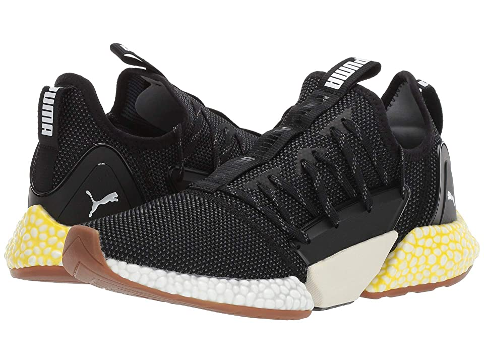 PUMA Hybrid Rocket Runner (Puma Black/Puma White/Blazing Yellow) Men
