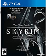 The Elder Scrolls V: Skyrim Special Edition Dragonborn Bundle (PS4) Includes Dovahkiin Mask, Collectible Steelbook Case & Dawnguard, Hearthfire and Dragonborn Add-Ons