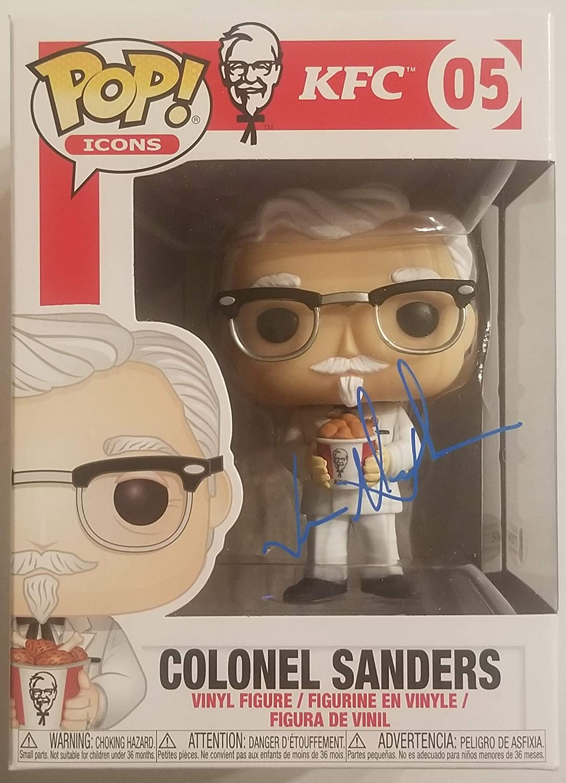 JASON ALEXANDER Signed Long Beach Mall COLONEL SANDERS KFC FUNKO Sale BAS POP Icons