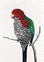 Maxwell & Williams Marini Ferlazzo Parrot Birds Tea Towel