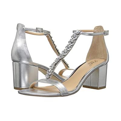 Jewel Badgley Mischka Lindsey (Silver Metallic) Women
