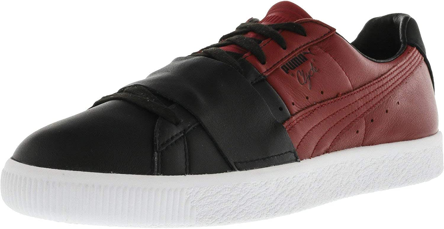 Puma Men's Clyde colorblock 1 Ankle-High Fashion Sneaker