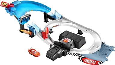 Disney and Pixar Cars Rust-Eze Double Circuit Speedway Playset Test Track Set for Drift, Race and Crash Competitions, wit...