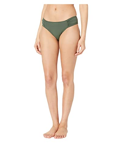 Seafolly Ruched Side Retro Bottoms (Forest) Women