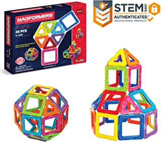Magformers Basic Set 26 Piece Magnetic Building Toy