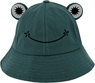 Testudineus Packable Reversible Daisy Printed Fisherman Bucket Sun Hat for Women Teen Girls