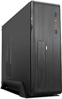 TooQ TQC-3006DU3C - Caja de ordenador, 2 x USB 3.0, 500 W, lector de tarjetas lateral, color negro