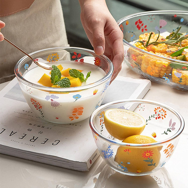 New arrival N\C Heat-Resistant Glass Bakeware Oval Household Louisville-Jefferson County Mall Transp