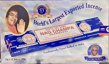 Mejor Nag Champa Incense de 2020 - Mejor valorados y revisados