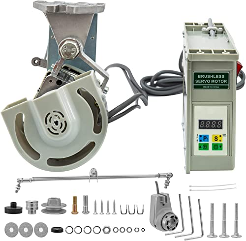 popular Mophorn 1HP Sewing Machine Servo Motor, 750W 3500rpm Energy Saving Mute Tie Bar outlet sale Brushless Servo Motor with Needle Positioner for new arrival Industrial Sewing Machine, 110V online sale