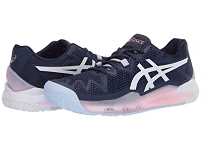 ASICS Gel-Resolution 8 (Peacoat/White) Women