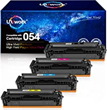 Uniwork Compatible Toner Cartridge Replacement for Canon 054 Cartridge 054H CRG 054 use for Color Image CLASS MF644Cdw LBP...
