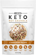 Low Karb - Keto Nut Granola Healthy Breakfast Cereal - Low Carb Snacks & Food - 2g Net Carbs - Almonds, Pecans, Coconut an...