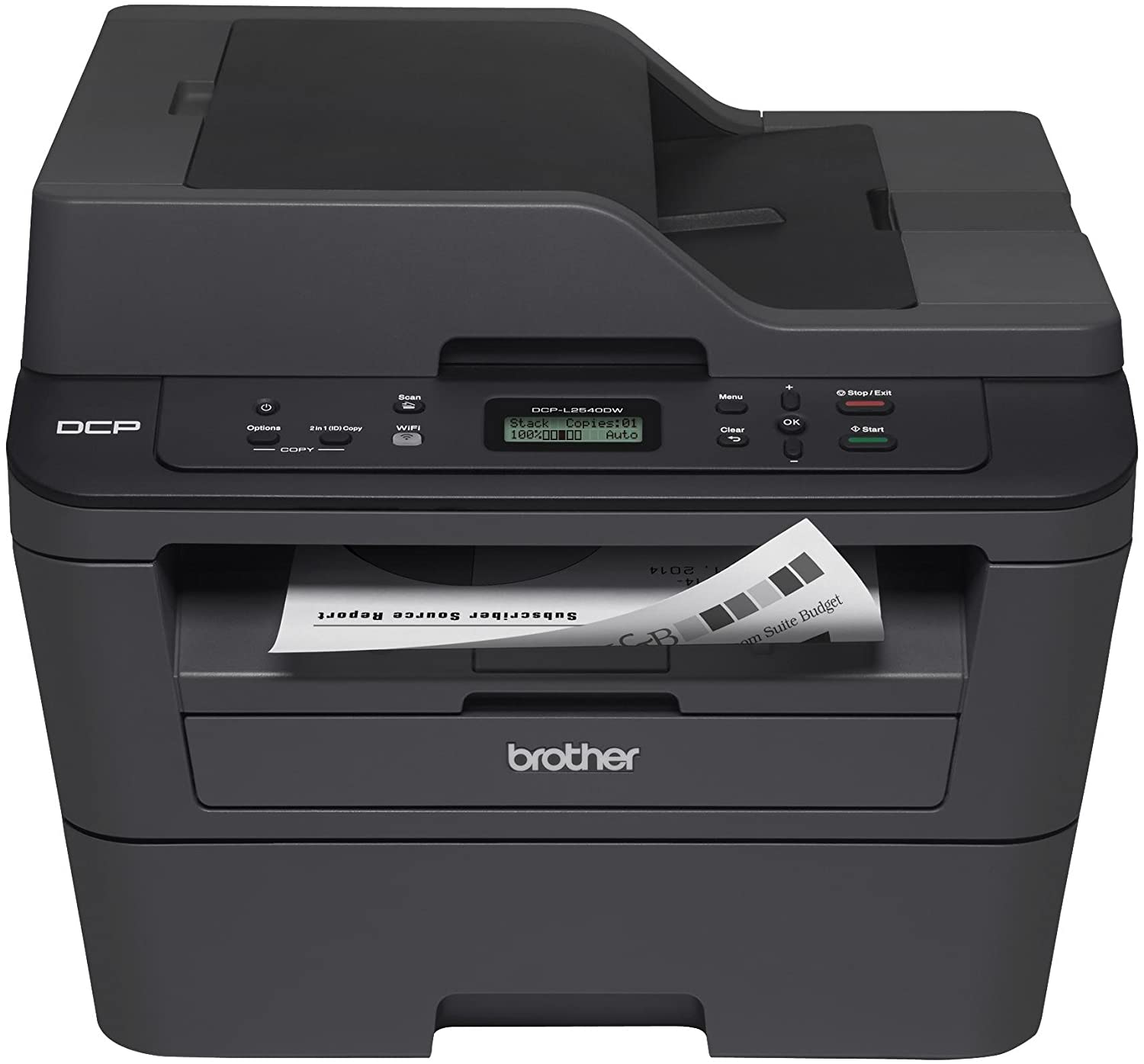 Brother 大好評です DCP-L2540DW Compact Laser 信頼 Multifunction Copier Pri Copy
