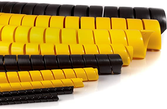 /38/mm JCB Forestry Tractor Digger Tubo idraulico a spirale Wrap Guard Potection 30/