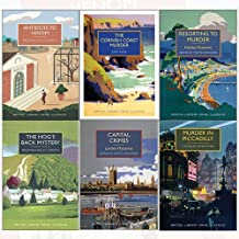 British Library Crime Classics Collection 6 Books Bundle (Antidote to Venom,The Cornish Coast Murder,Resorting to Murder,The Hog's Back Mystery,Capital Crimes,Murder in Piccadilly)