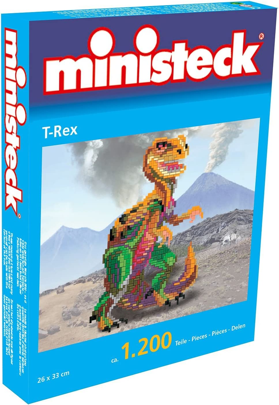 Ministeck 32789 Juego de 1100 piezas dise/ño Delfines importado de Alemania color//modelo surtido
