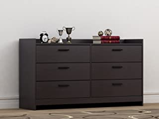 Homestar Central Park 6 Drawer Dresser, 15.98 x 54.37 x 30