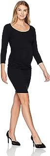 Ripe Women's Maternity Nursing Tube Dress-3/4 Sleeve
