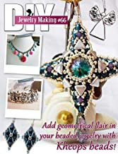 DIY Jewelry Making Magazine #66: Add geometic flair in your beaded jewelry with Kheops beads!