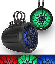 $249 » Sponsored Ad - BOSS Audio Systems MPWT60RGB Marine ATV UTV Roll Cage Waketower Speaker Pods - 600 Watts of Power Per Pair,...