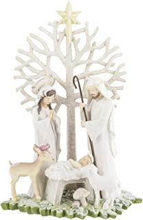 Grasslands Road Nativity Figurine with Tree Winter Wilderness Gifts of Glory
