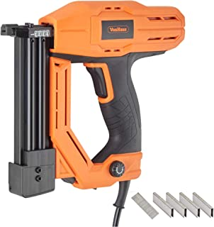 VonHaus Corded Electric 18 Gauge Brad Nailer and Stapler Kit - 500 Staples and 500 Brad Nails. For Use On Soft Woods ONLY