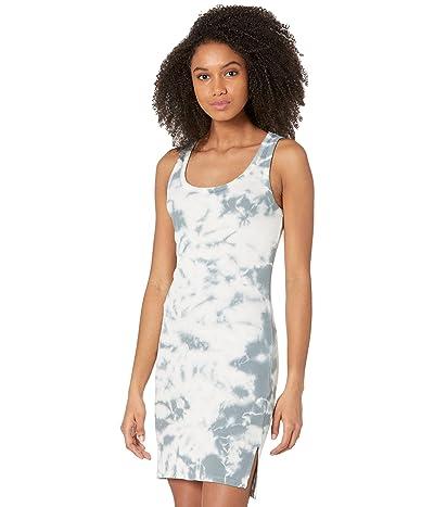 bobi Los Angeles Tie-Dye Rib High-Low Tank Dress