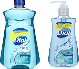 Dial Hand Soap, 52 Oz Refill Bundle With 7.5 Oz Pump (Spring Water)