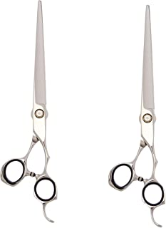 """ShearsDirect APK36-80SET Hitachi Stainless Steel Curved and Straight Shear Set, 8"""""""