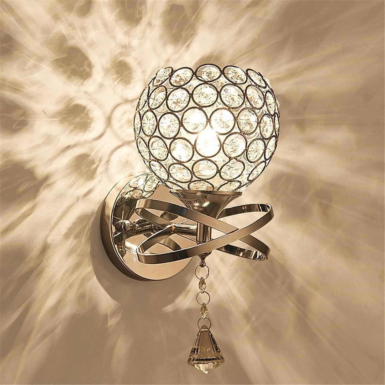 StiefelU LED Wandleuchte nach oben und unten Wandleuchten Wandleuchte Bett Wohnzimmer Schlafzimmer Hintergrund Wandleuchte LED Energiesparlampen, Single crystal