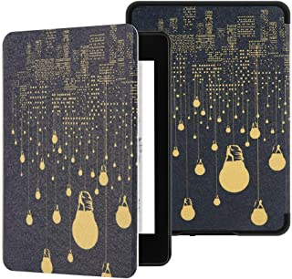 Maomi for All New Kindle Paperwhite Case 10th Generation 2018 Release (Model: PQ94WIF)- PU Leather Smart Cover with Auto W...