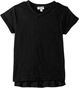 Splendid Littles - Always Basic Short Sleeve Tee (Big Kids)