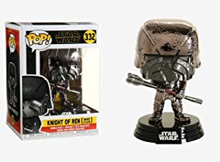 Funko POP 47242 Star Wars The Rise of Skywalker-KOR Club (Hematite Chrome) Collectible Toy, Multicolour