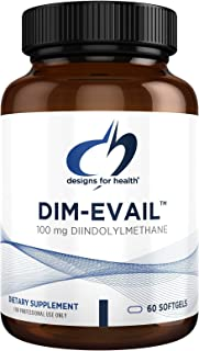 Designs for Health DIM-Evail - 100mg Diindolylmethane Supplement Without Soy with Evail Technology to Promote Absorption -...