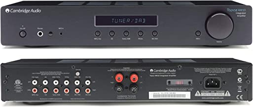 Cambridge Audio Topaz AM10 Integrated Amplifier - Black