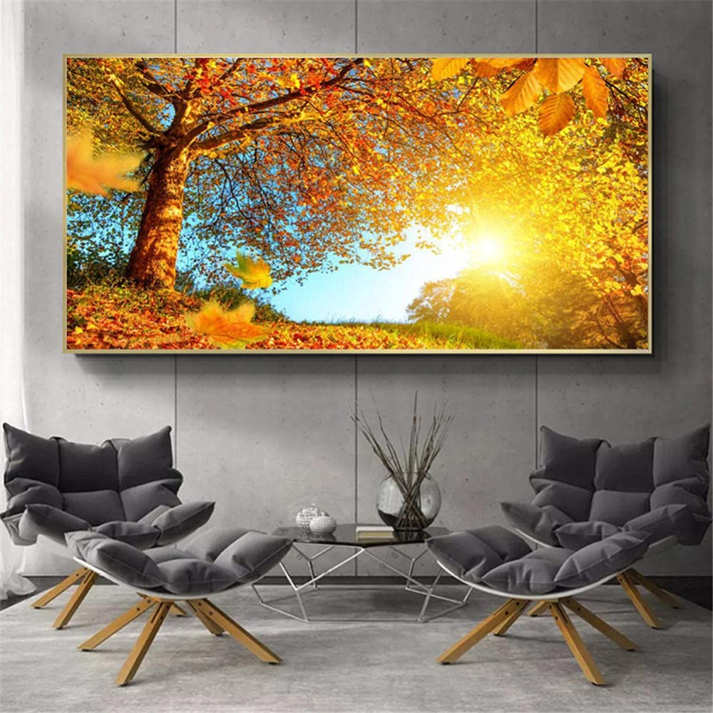 Mail order Diamond Painting kit Large-scale sale Forest Tree DIY 5D Adu Kits Art for