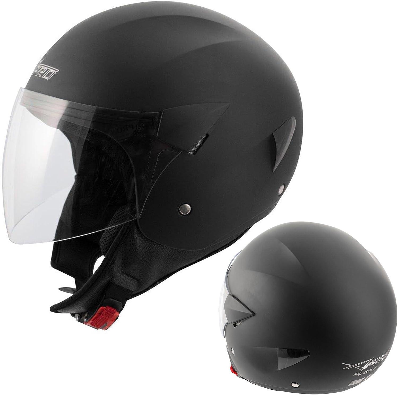 A Pro Motorradhelm Motorrad Roller Jet Helm Demi Jet Scooter Homologiert Auto