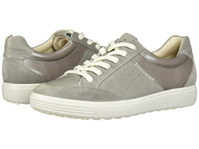 ECCO Soft 7 Leisure Sneaker (Wild Dove/Wild Dove/Wild Dove Suede/Cow Leather/Cow Leather) Women