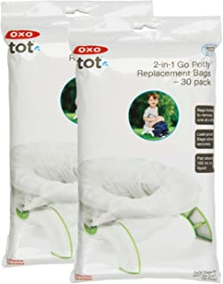 OXO Tot 2-in-1 Go Potty Refill Bags, 60 Count