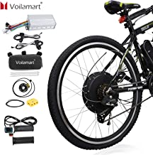 "Voilamart 26"" Rear Wheel Electric Bicycle Conversion Kit, 48V 1500W E-Bike Powerful Hub Motor Kit with Intelligent Control..."