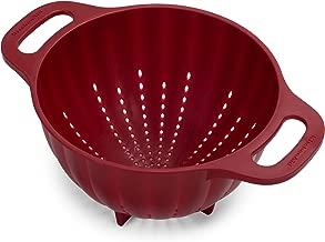 KitchenAid Plastic Colander/Strainer, 5-Quart, Red - KC166OSERA