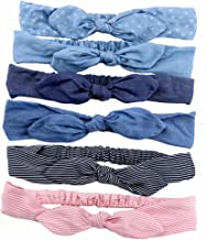 6 Pcs Women Headbands Turban Headwraps Hair Band Bows Accessories for Fashion Or Sport