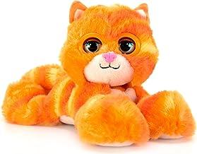 Bandai CE80087 Nuzzy Luvs Peaches Interactive Pet Soft Toy (Orange Kitten)