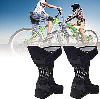 GBHJJ knäbooster, knäbooster ledstöd, halkfri andningsbart knäskydd booster för sport klättring lindring smärta gammalt ka...